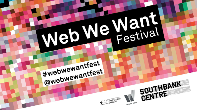 The Web We Want Festival poster by The World Wide Web Foundation