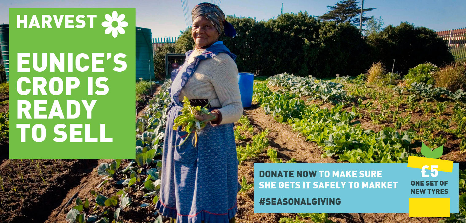 Image from a Farm Africa fundraising product